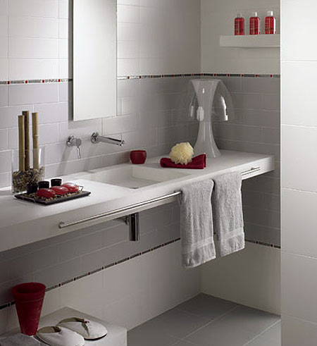 Ideas para cuartos de baño pequeños - aseos
