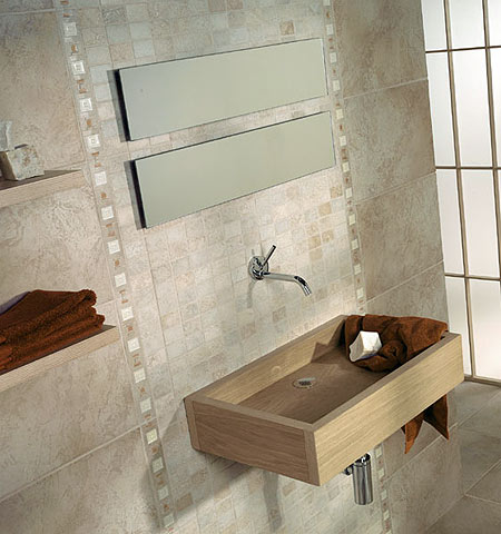Ba os peque os on pinterest modern bathrooms sobriety for Modelos de ceramicas para banos pequenos