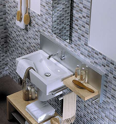 Ideas para cuartos de ba o peque os aseos - Cuarto de banos pequenos ...